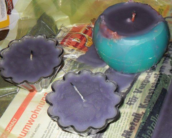 Kerzen_gegossen